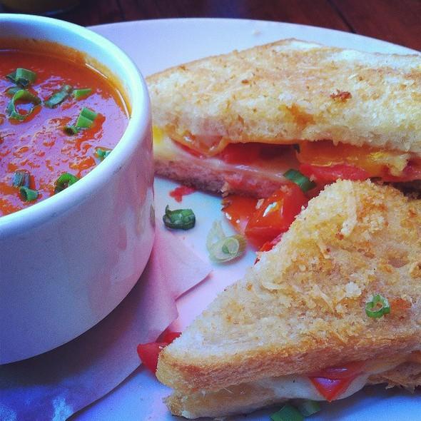 "Tomato Soup & Grilled Cheese Sandwich"" - HopMonk Tavern, Sebastopol, CA"