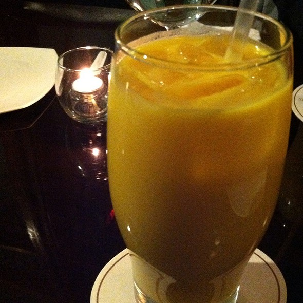 mango lassi - Rasoi Indian Kitchen, Washington, DC