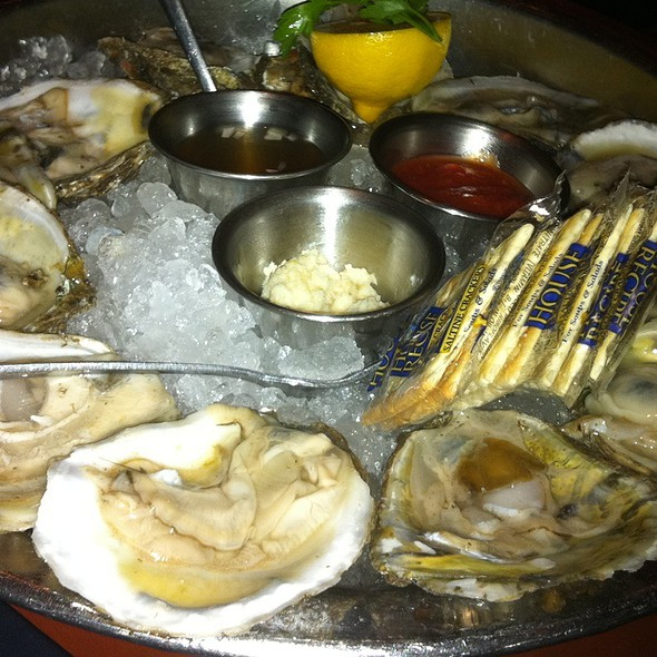 Oysters on the Half Shell - Eddie V's – Wildfish – San Antonio, San Antonio, TX