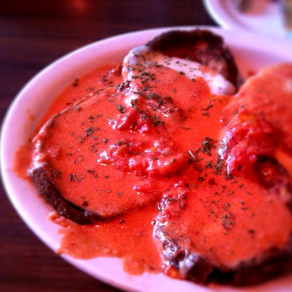 Eggplant Parmigiana - Anthony's Restaurant, Kansas City, MO