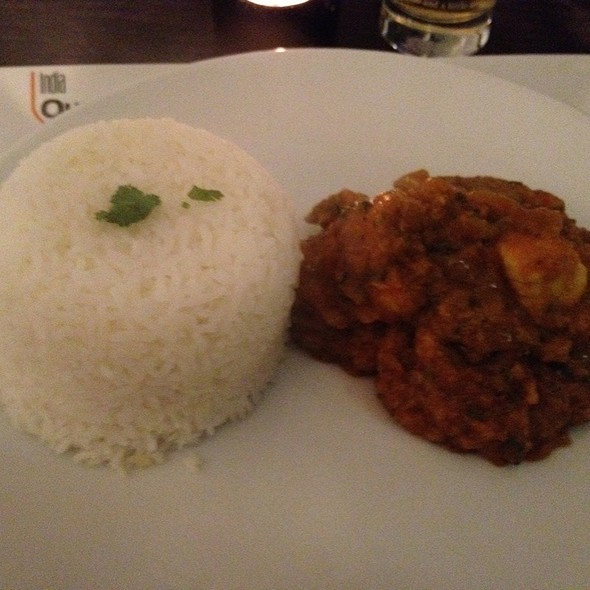 Chicken Bhuna - India Quay, Glasgow