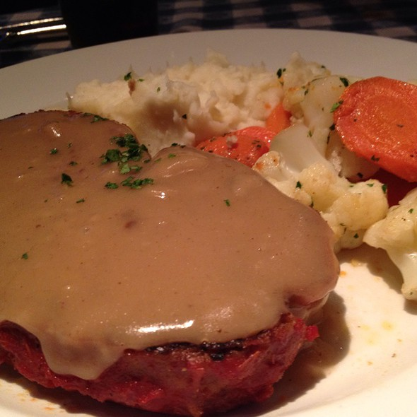 Meatloaf - Perry's - Embarcadero, San Francisco, CA