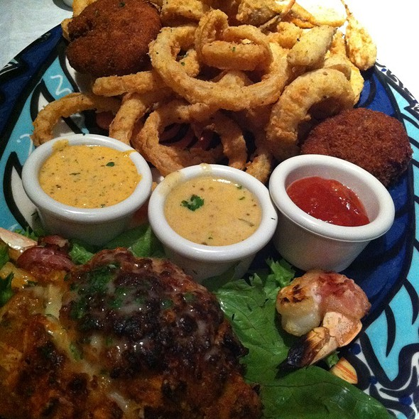 Chef Santo's Appetizer Combo - Remington's Seafood Grill, Addison, TX