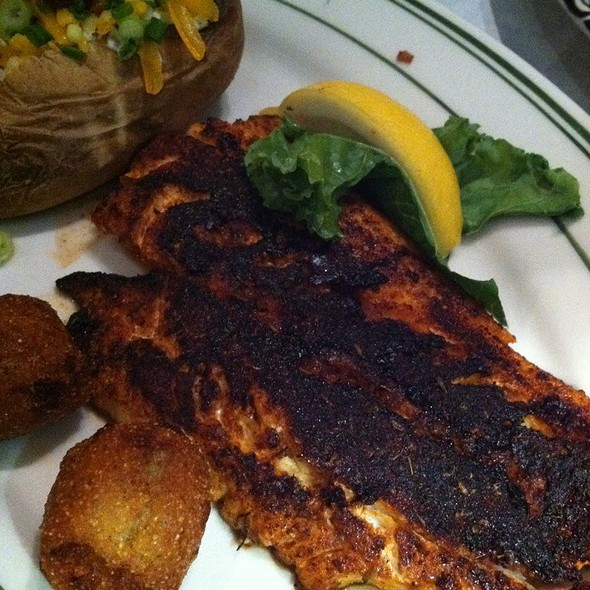 Blackened Gulf Red Snapper - Remington's Seafood Grill, Addison, TX