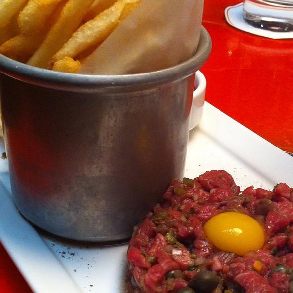 Steak Tartare With Quail Egg - Roxy Bar, New York, NY