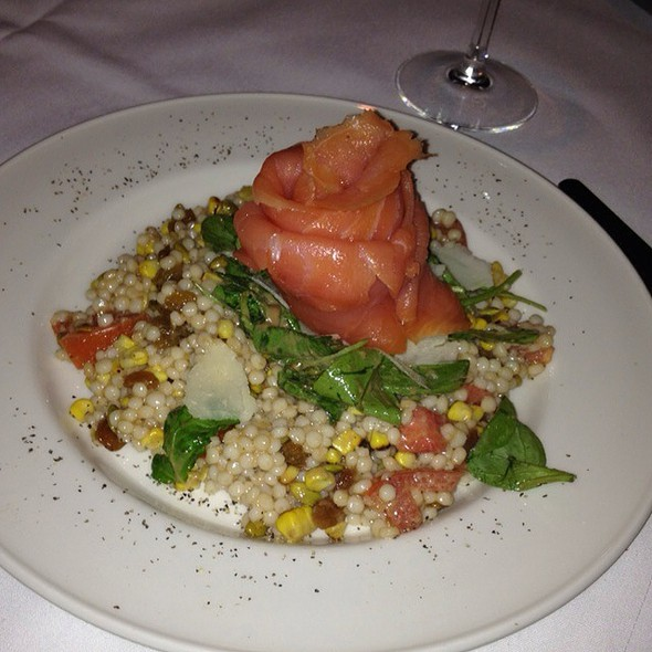 Arizona Salad With Smoked Salmon - Maguire's - North Dallas, Dallas, TX