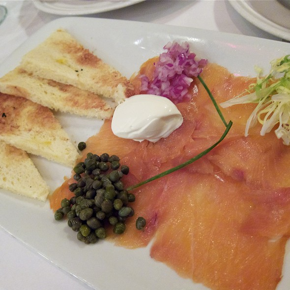 Smoked salmon - Mon Ami Gabi - Oak Brook, Oak Brook, IL