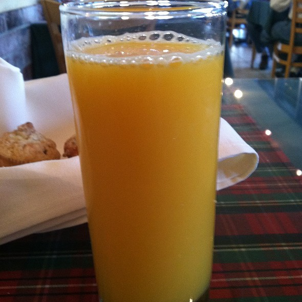 Fresh Squeezed Orange Juice - Lulu's Creperie, Laguna Hills, CA