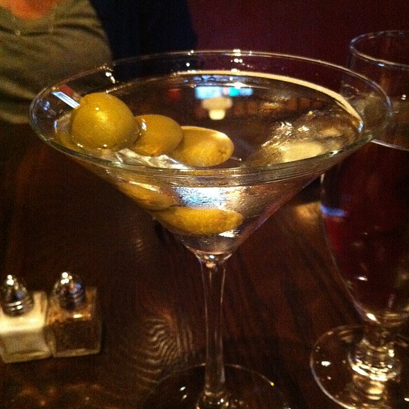 Tanqueray Martini - Foundry On Elm, Somerville, MA