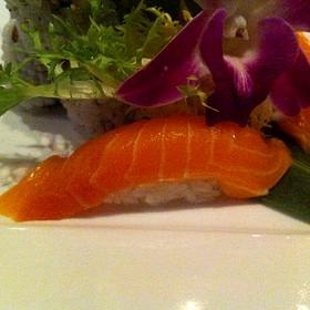 Salmon Nigiri - Osaka Japanese Sushi and Steakhouse, Brookline, MA