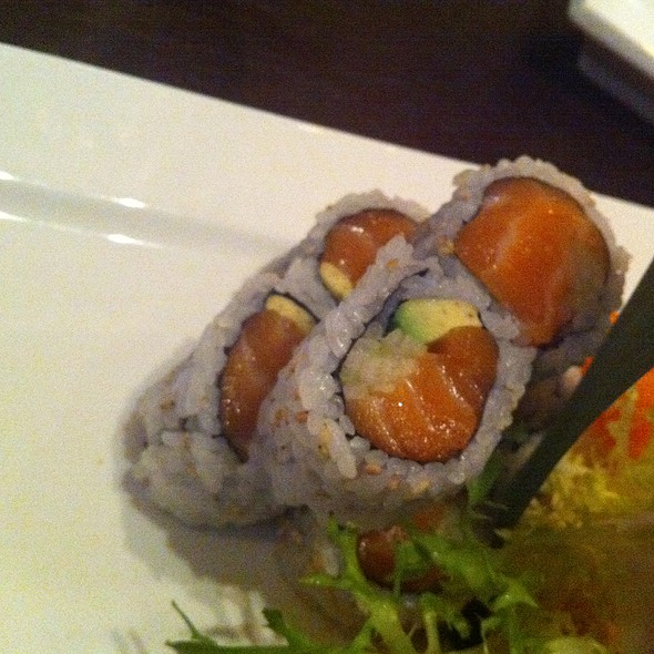 Salmon Avocado Roll - Osaka Japanese Sushi and Steakhouse, Brookline, MA