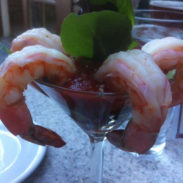 Mexican Shrimp Cocktail - Crab Catcher, San Diego, CA