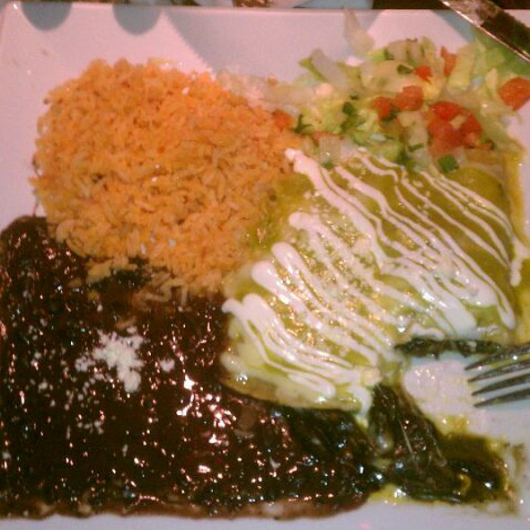 Enchiladas Rancheras - Arriba Arriba Mexican Restaurant - Queens, Sunnyside, NY