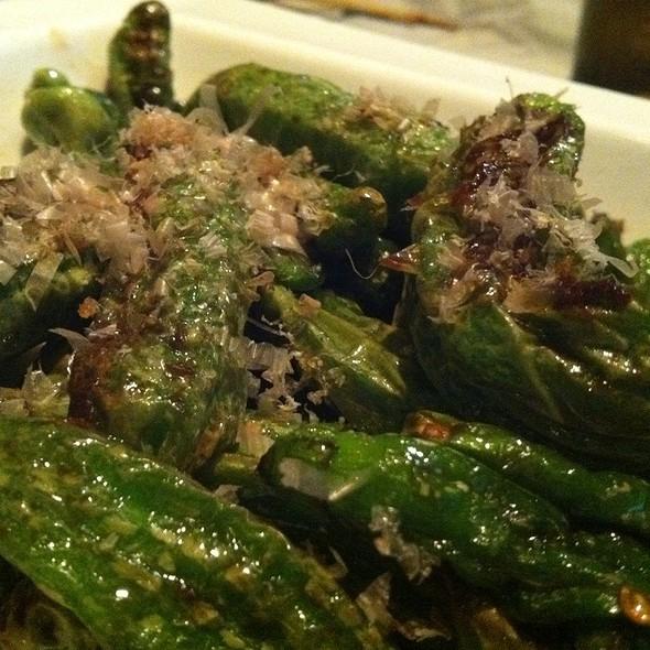 Sauteed Pepper - Izakaya M Sushi, Sherman Oaks, AL
