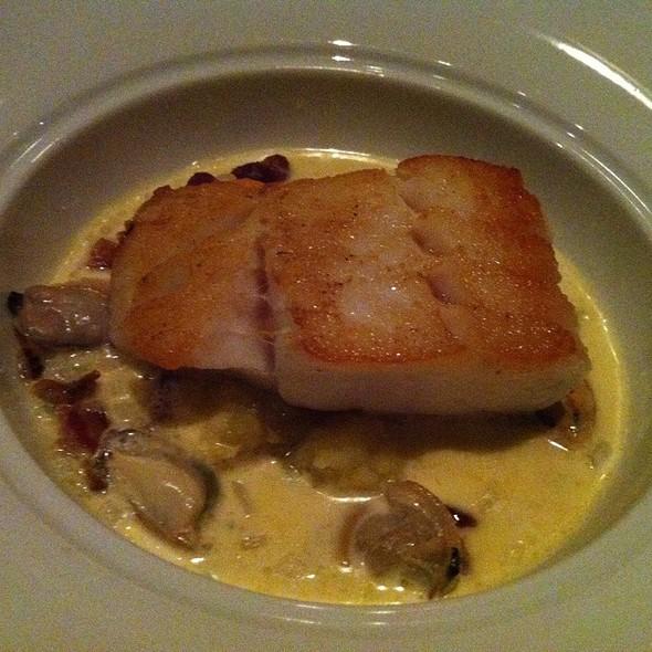 Roasted Cod - Catalyst Restaurant, Cambridge, MA