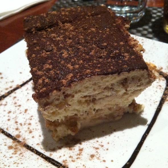 Tiramisu - Di Napoli Ristorante & Pizzeria, South San Francisco, CA