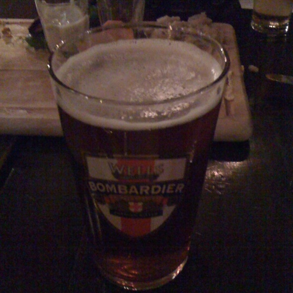 Wells Bombardier - The Peasant, London