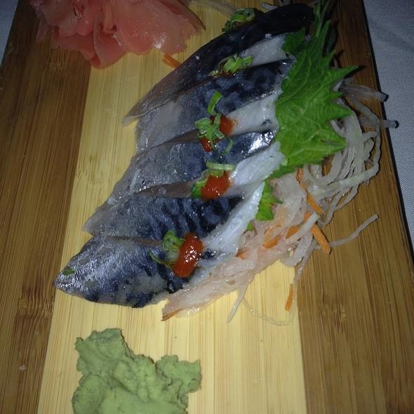 mackerel sashimi - NAAN Sushi, Plano, TX