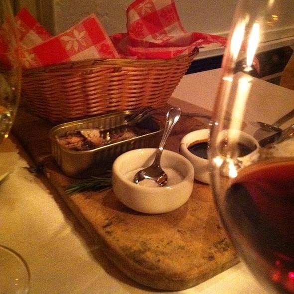 Spanish Sardines - Hamilton's Grill Room, Lambertville, NJ