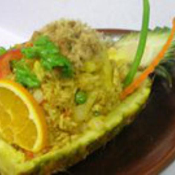 Pineapple Fried Rice - Marnee Thai - Ann Arbor, Ann Arbor, MI