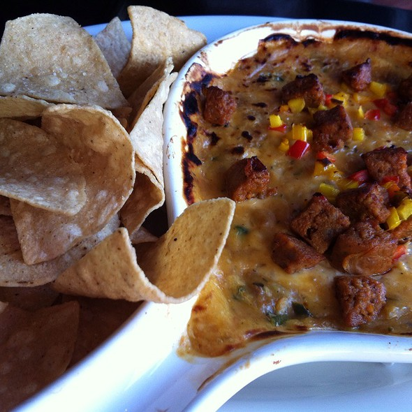 Queso Fundido con Chorizo - Paladar Latin Kitchen & Rum Bar, Cleveland, OH