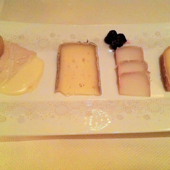 Dessert Cheese Course - Daniel - Lounge Seating, New York, NY