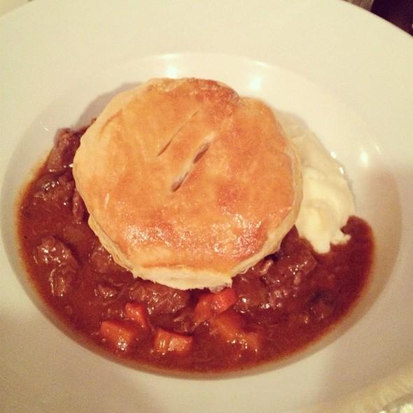 Braised Beef & Guinness Pie - Trinity Place Bar & Restaurant, New York, NY