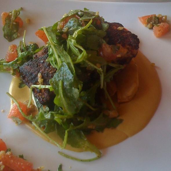 Cajun Swordfish W/ Mustard Sauce - Bistro of Santa Monica, Santa Monica, CA