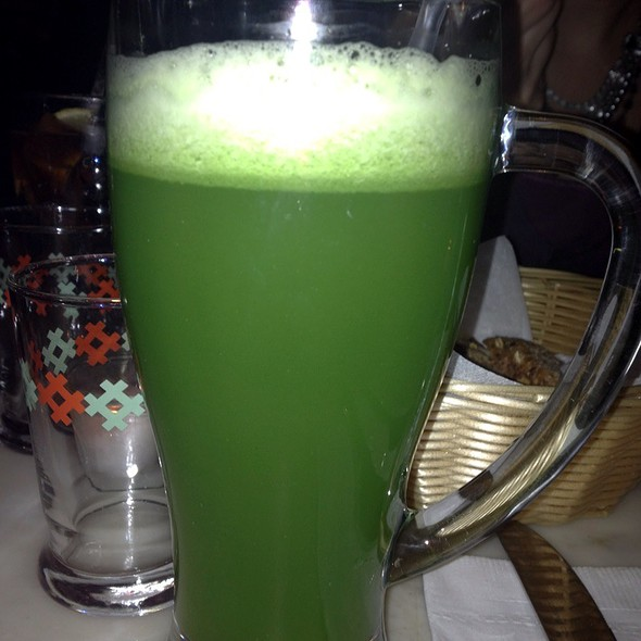 Cucumber Mint Juice - Rafaella on Ninth, New York, NY