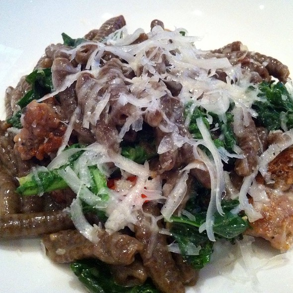 Cavatelli With Kale, Sausage & Red Chili - Bibiana, Washington, DC