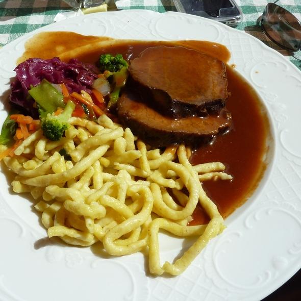 sauerbraten - Pepi's Restaurant & Bar, Vail, CO