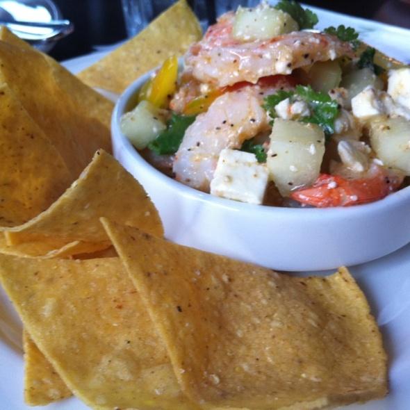 Greek Style Shrimp Ceviche - Trumbull Kitchen, Hartford, CT