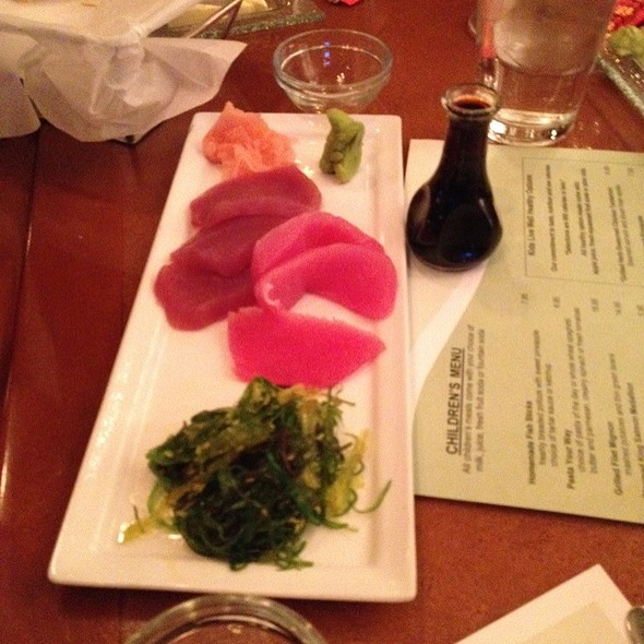 Sashimi - Harry's Seafood Grill, Wilmington, DE