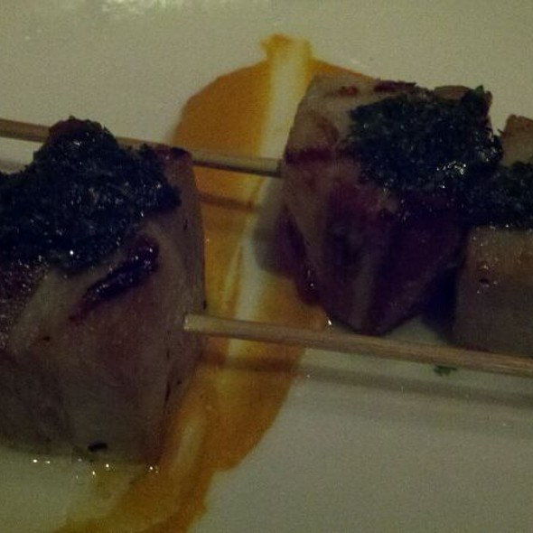 Pork Belly Skewers - Sonoma Wine Garden - Santa Monica, Santa Monica, CA