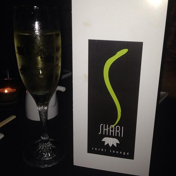 Prosecco - Shari Sushi Lounge, Orlando, FL