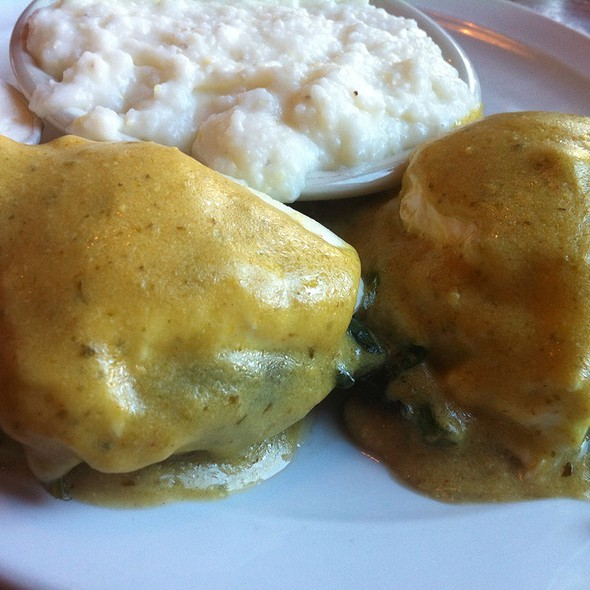 Portabello Mushroom Eggs Benedict - Kitchen Bar, Abington, PA