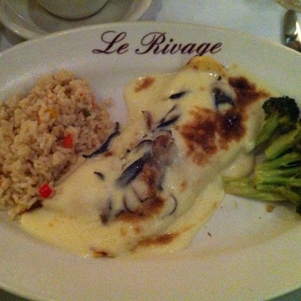Seafood Crepe - Le Rivage, New York, NY