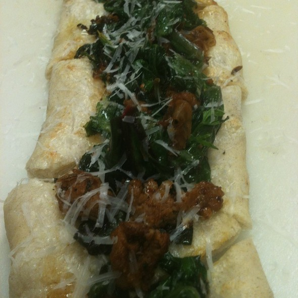 Sausage Flatbread - The Grocery, Charleston, SC