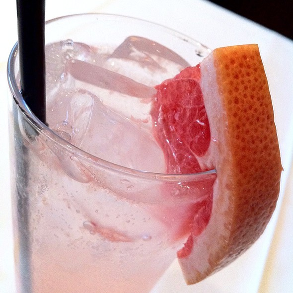 Grapefruit Soda - The Capital Grille - Chicago - Downtown, Chicago, IL