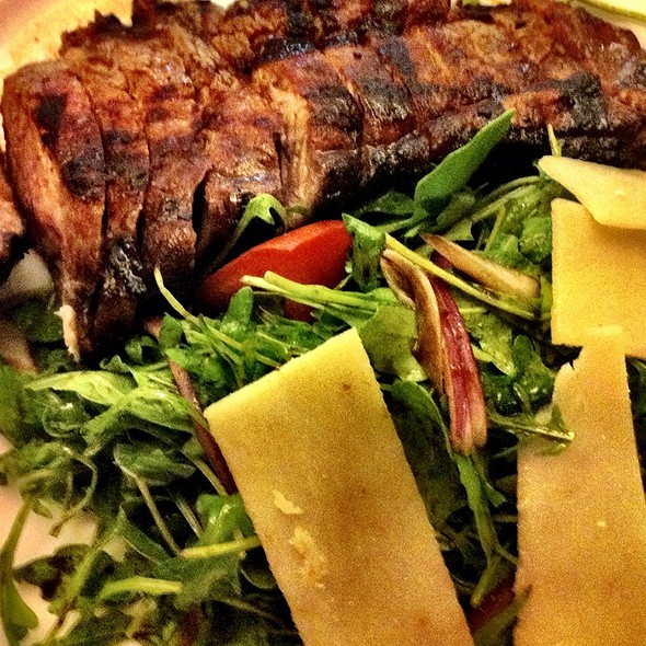 Angus Sliced Steak Salad - Freds Madison at Barneys New York, New York, NY