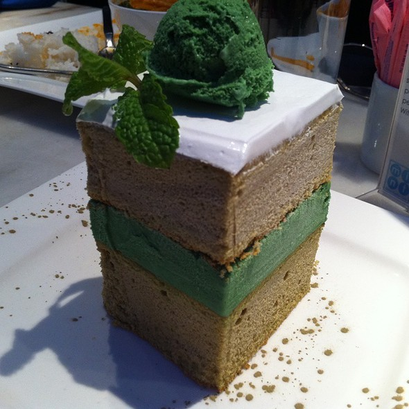 Green Tea Ice Cream Cake - Asian Mint | Highland Park, Dallas, TX