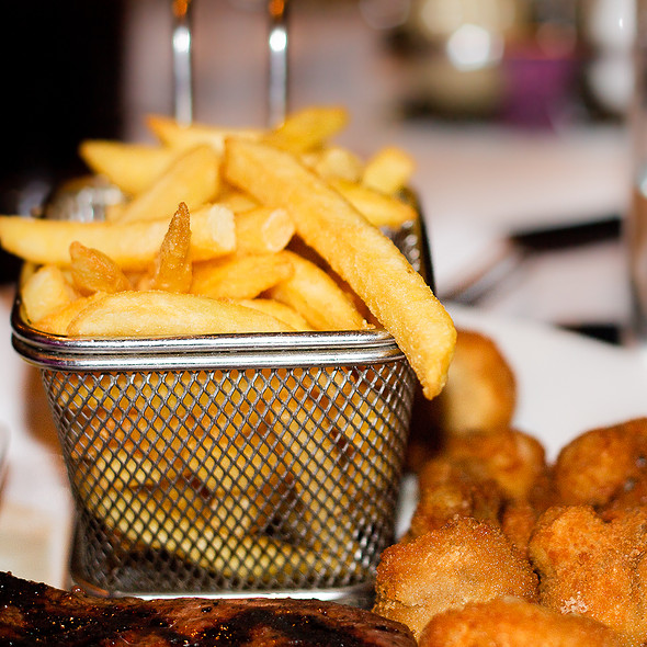 Fries - Wolfe's Bar & Grill, London