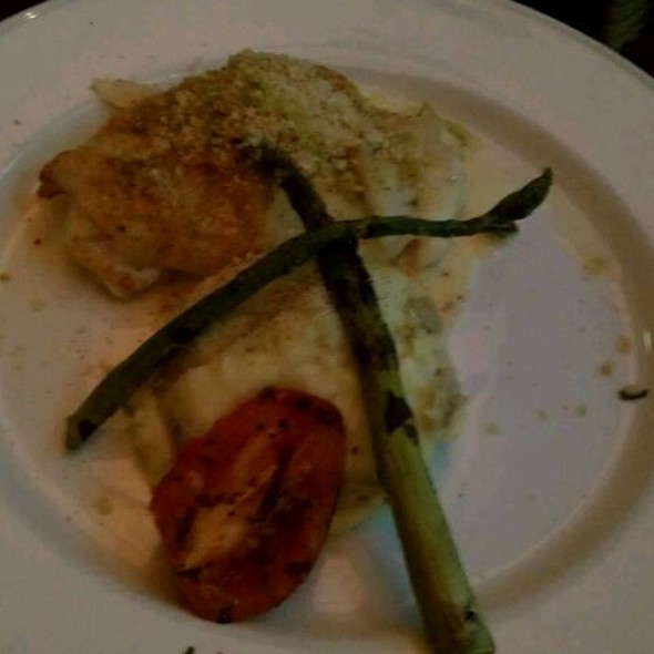 Crab Stuffed Flounder - Chart House Restaurant - Golden Nugget - Las Vegas, Las Vegas, NV