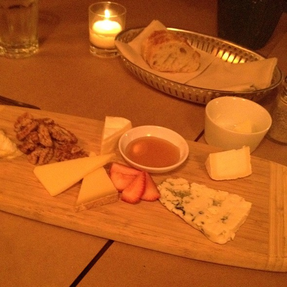 Cheese Plate - Mathilde French Bistro, San Francisco, CA