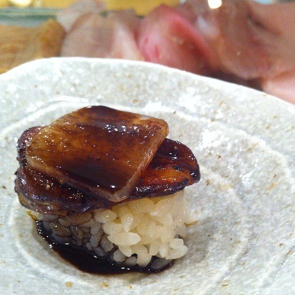Foie Gras Sushi - Sushi of Gari - Upper East Side, New York, NY