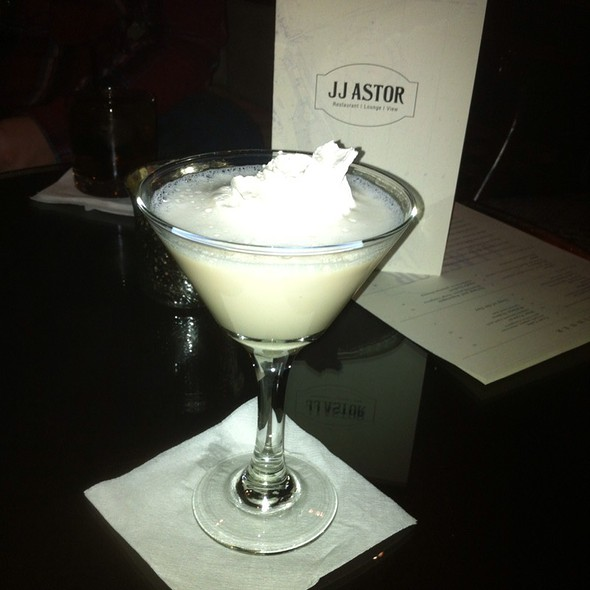 Sugar Cookie Martini - JJ Astor, Duluth, MN