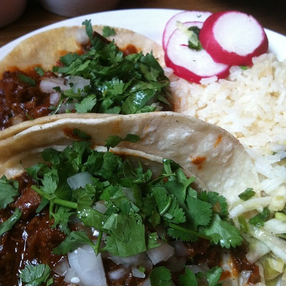 Tacos (al pastor, carne aside, carnitas) - SOUTH, Leavenworth, WA