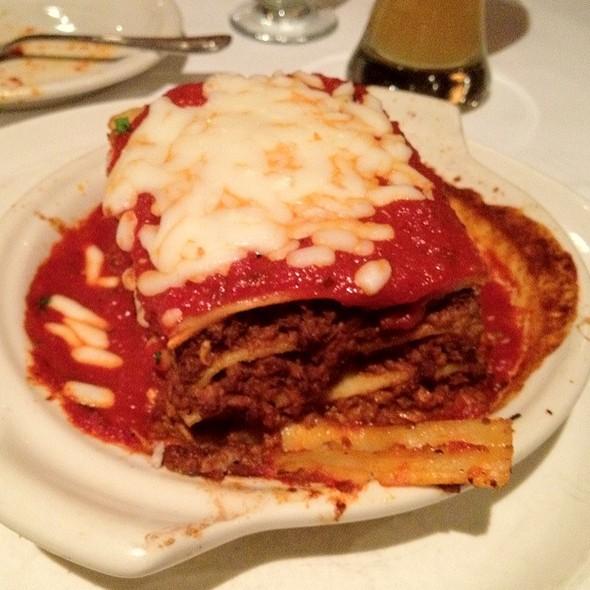 lasagna - Mancy's Italian Grill, Toledo, OH