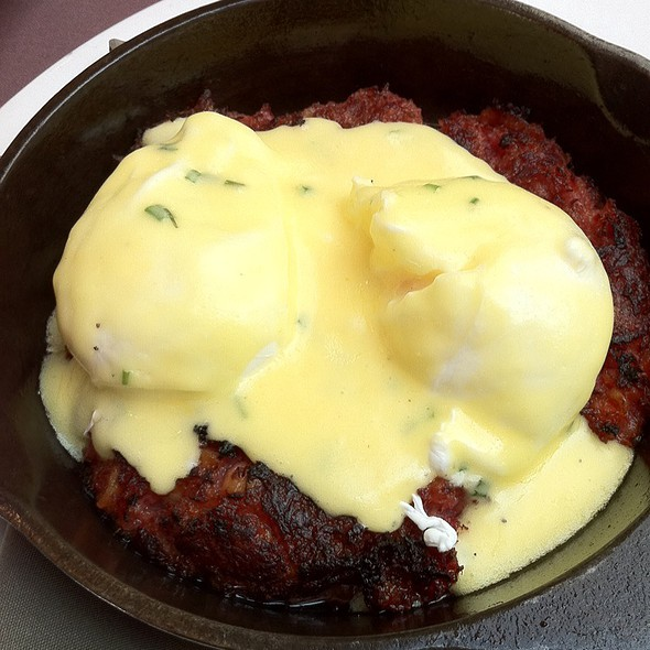 Red Flannel Hash And Eggs - Henrietta's Table, Cambridge, MA