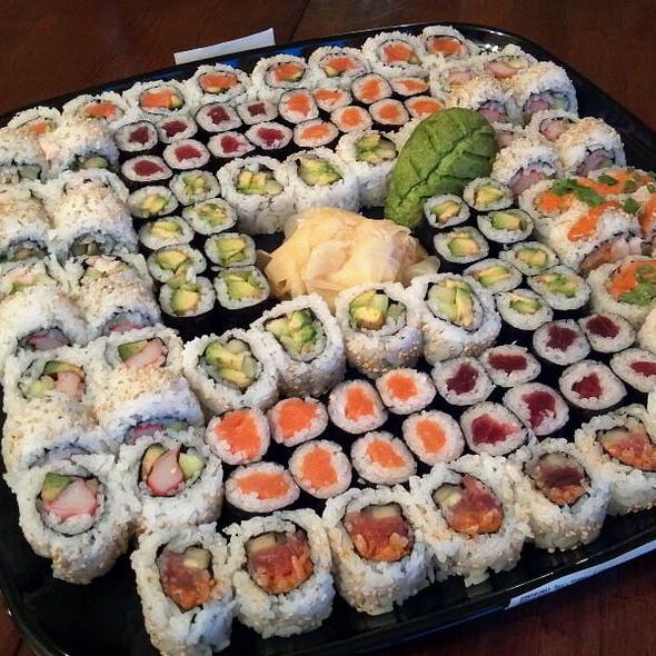 Whole Foods Sushi Platter